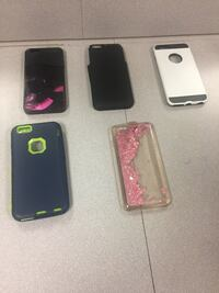 five assorted iPhone cases and two iPhone cases Vicksburg, 39180