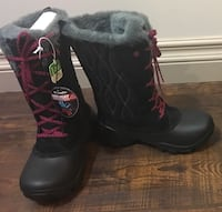 Brand new in box sz 1 Girl winter boots 7 to 9 yr old child $50 FIRM Edmonton, T5W 0P7