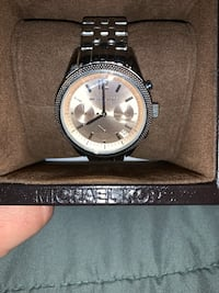 Authentic MK ladies watch 2 tone Woodbridge, 22191
