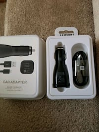 Brand new Samsung Dual USB Car Fast Charger Type C set Mississauga, L5W 0E7