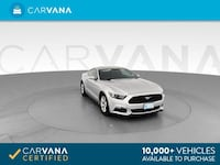 2017 Ford Mustang V6 Coupe 2D coupe Silver Phoenix