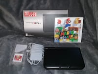 Nintendo 3ds XL with two games
