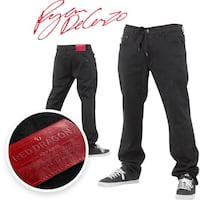 NEW RDS Pants 34 Black  Vancouver, V5X 1J4