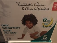 Diapers size 5 London, N5W 5E1