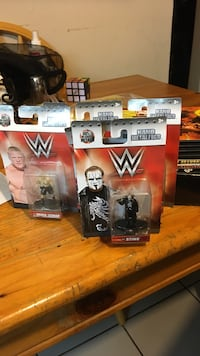 Have about 20 to 25 WWE mini metal figures Coral Springs, 33065
