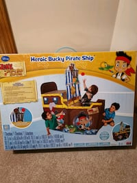Heroic Bucky Pirate Ship Playhut  Edmonton, T5Z
