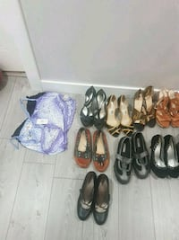 assorted pairs of shoes and sandals Calgary, T3J 1M5
