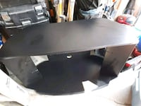 Tv stand with glass shelves Edmonton, T5J 0S1
