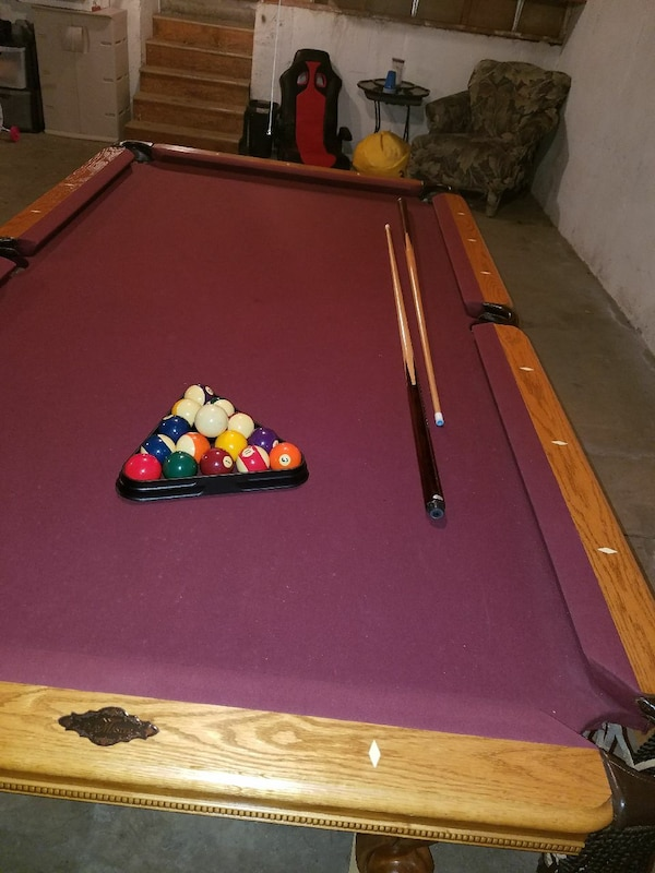 Used AMF Playmaster X Pool Table For Sale In Kansas City Letgo - Amf playmaster pool table