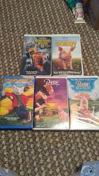 four assorted Blu-ray movie cases Somerset, 42503