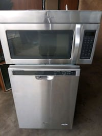 Whirlpool stainless microwave and dishwasher Glendale