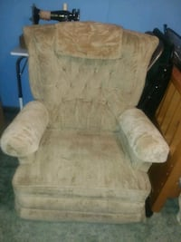 Beige rocking chair Loxley, 36551