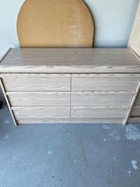 Dresser, Mirror and large chest