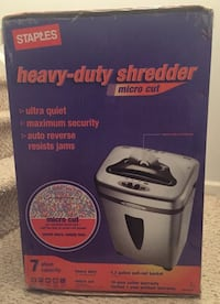 Heavy duty shredder  Warminster