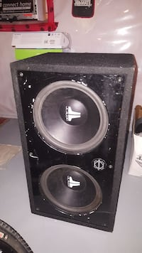 black JL Audio subwoofer Winnipeg, R3Y 1S3