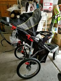baby's black and gray jogging stroller Henderson, 89012