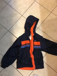 black and orange zip-up hoodie Kitchener, N2E 0B4
