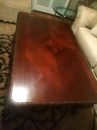 Carved Wooden Coffee Table Hyattsville, 20782