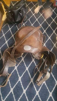 western saddle with bridle Mississauga, L4T 3M9