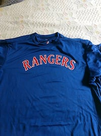 MLB Majestic Dri Fit Adult Rangers tips Manassas, 20109