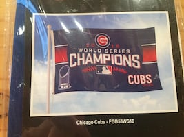 2016 Chicago Cubs World Series flag banner  New!