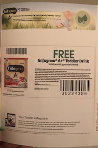 Free coupon for Enfamil A+  680g