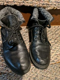Women's black ankle winter boots Mississauga, L5G 1C3