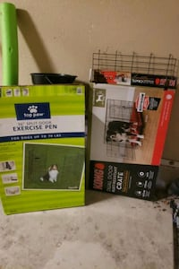 Crate and exersize pen  New Braunfels