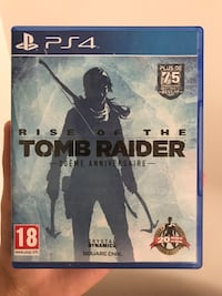 Rise Of The Tomb Raider Cas de jeu Sony PS4
