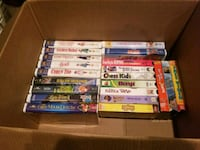Lot of VHS tapes Houston, 77084