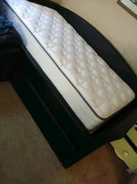 Black leather day bed Ellicott City