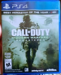 Call of duty MWR (PS4)