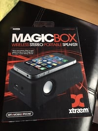 Magic Box Wireless Stereo Portable Speaker Mississauga