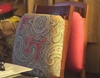 2 Upholstered Wooden Folding Chairs Somerville, 02143
