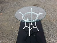 2 beautiful GLASS AND METAL  tables Blaine, 55434