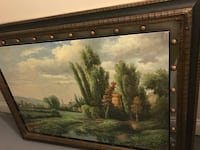 Italy landscape painting Centreville