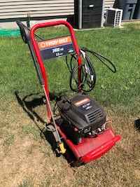 red and black Troy-Bilt pressure washer Patchogue, 11772