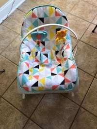 baby's multicolored bouncer Kathleen, 31047