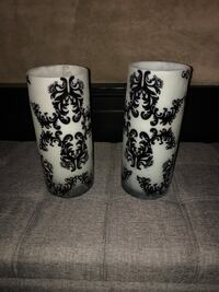 Glass Candle holders - set of 2 Cambridge, N1T 0B3