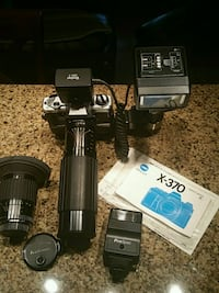 X-370 auto flash ,auto wind+Extras