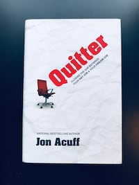 """""""Quitter: Closing the Gap Between Your Day Job & Your Dream Job"""" by Jon Acuff (Hardback) - *NEW* 4 mi"""