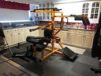Home gym machine
