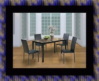 Table with 4 chairs Adelphi