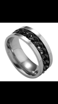 black and silver-colored ring Edmonton, T6L 1Z3