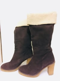 Brown Suede leather boots Size 7.5  Toronto, M4Y