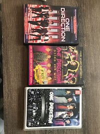 One Direction DVDs