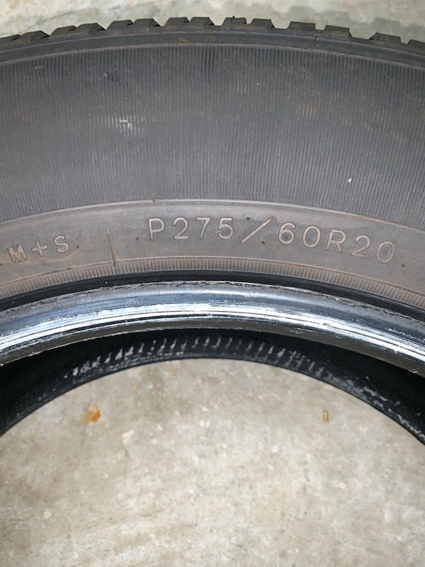 "Near New Goodyear 20"" Tire 7be2d107-aa24-4cb9-ba51-d049864b619b"