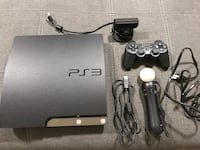 Sony PS3 Slim Console with Move Bundle and Controller Woodbridge