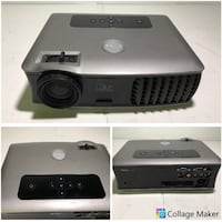 AS-IS ASSORTED DLP PROJECTORS TO FIX OR PARTS (4) - USED - FJN Cambridge, N1P 1E3