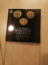 Star wars Disney coin set  Coquitlam, V3K 3H2